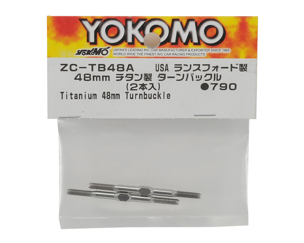 Yokomo 48mm Titanium Turnbuckle (2)