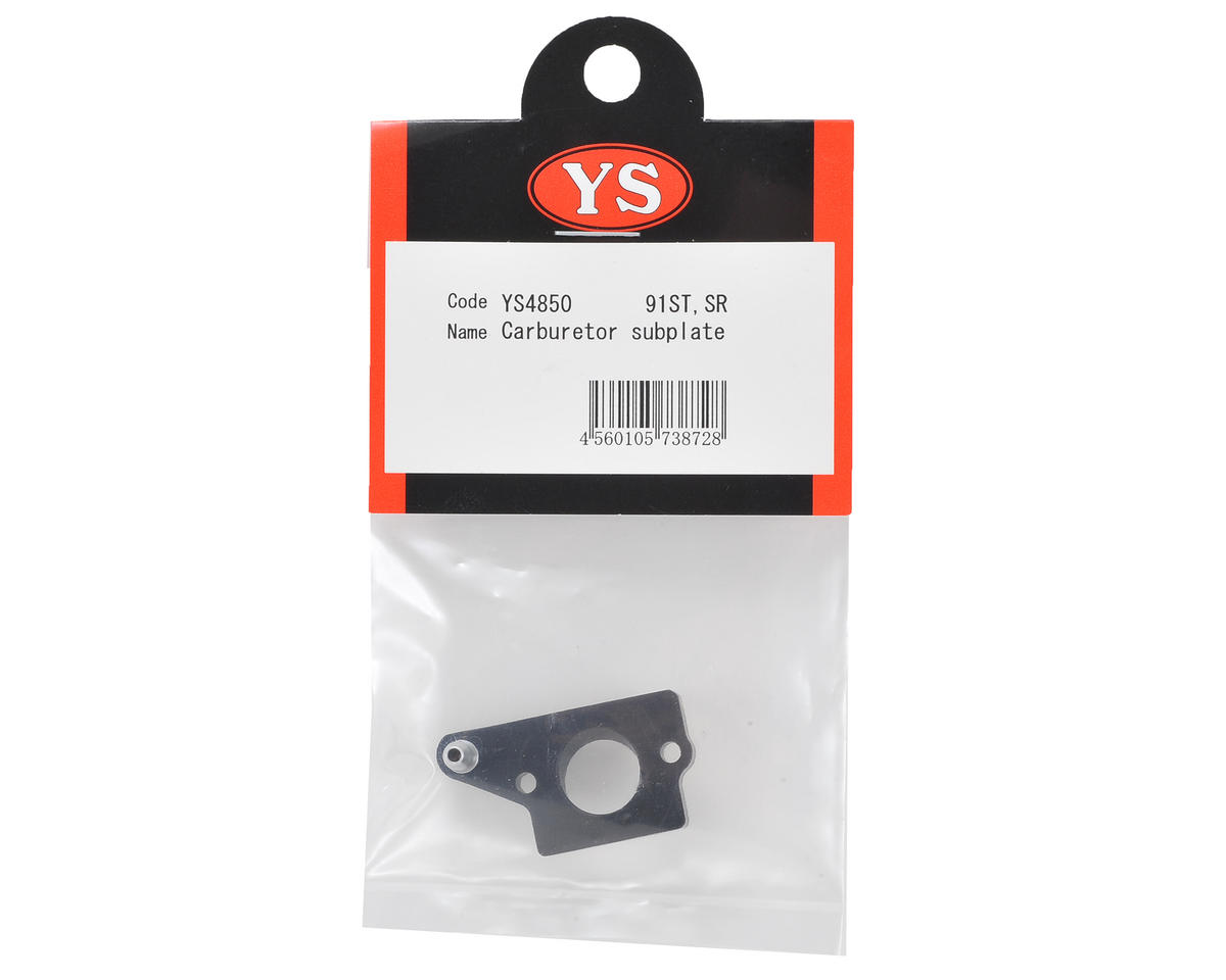 YS Engines Carburetor Subplate