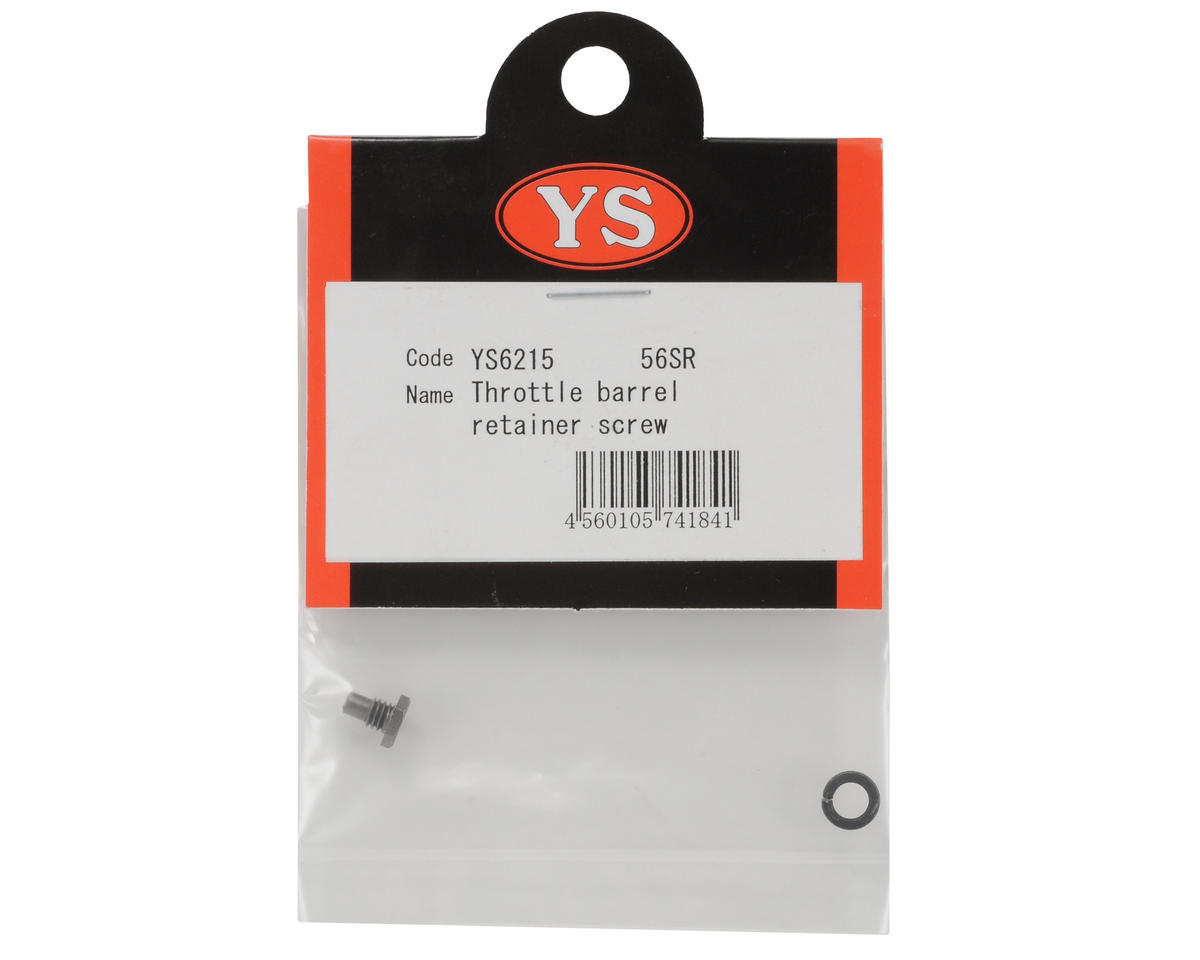 YS Engines Throttle Barrel Set Screw