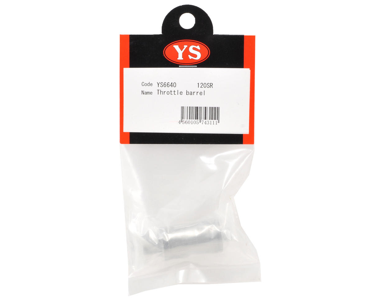 YS Engines Throttle Barrel