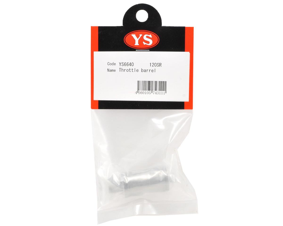 YS Engines Throttle Barrel