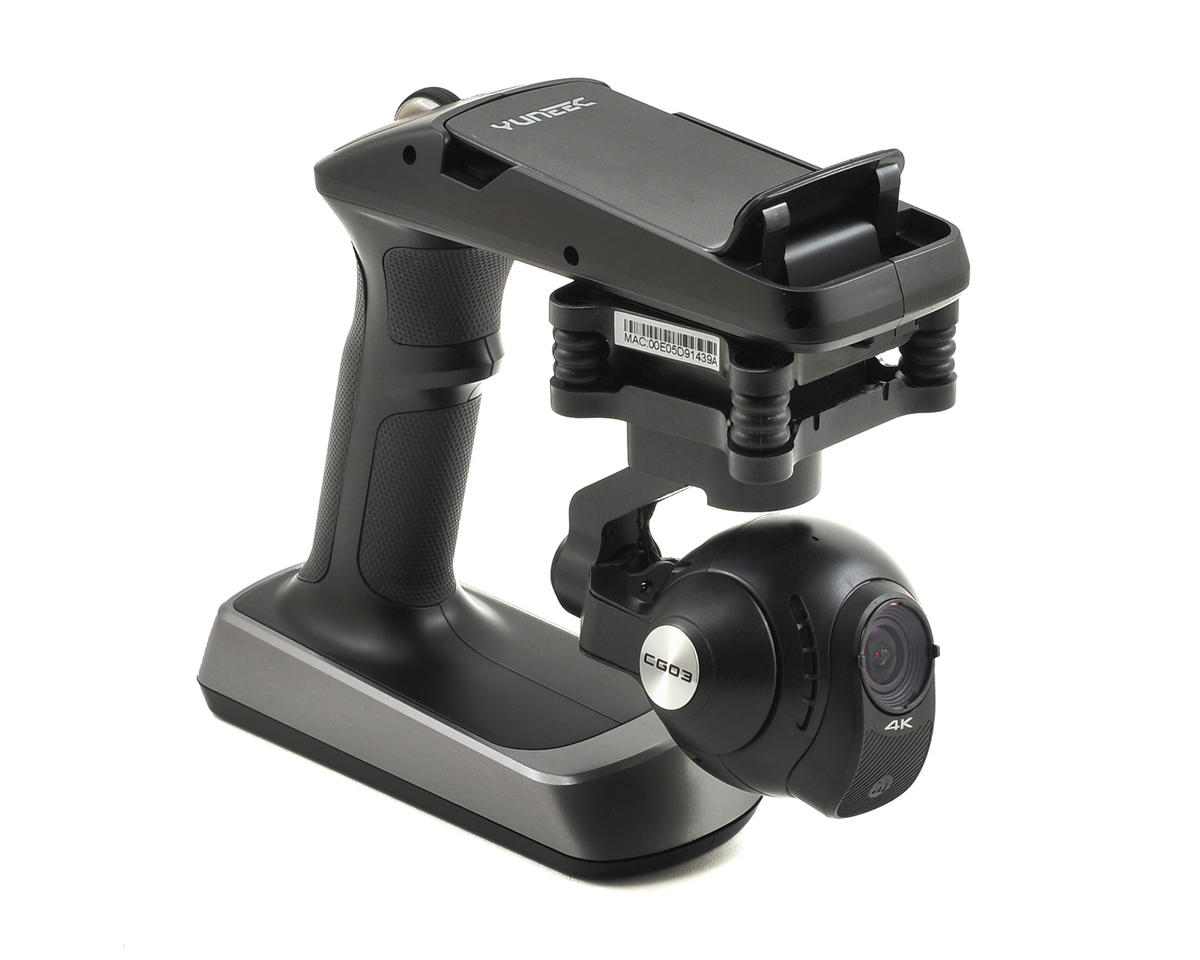 Yuneec USA Typhoon ActionCam CGO3 Handheld SteadyGrip Camera, Gimbal