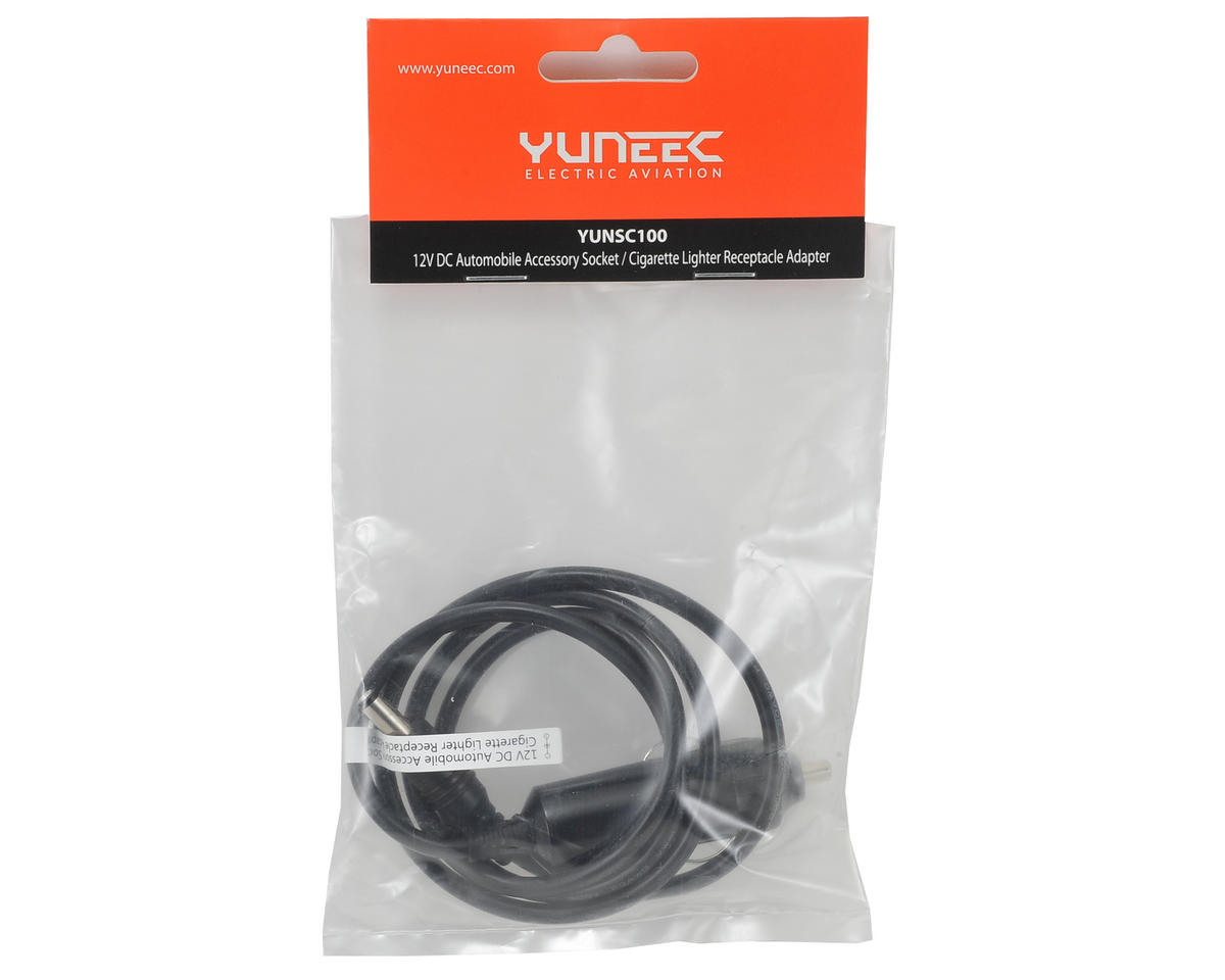 Yuneec USA 12V DC Auto Receptacle Adapter