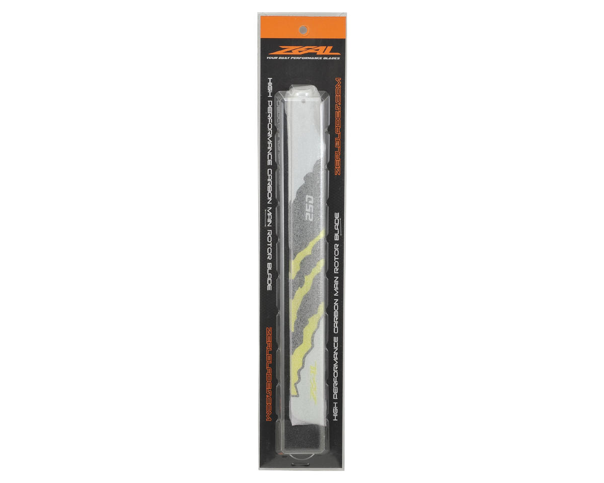 "Zeal 250mm ""Energy"" Carbon Fiber Main Blades (Yellow)"