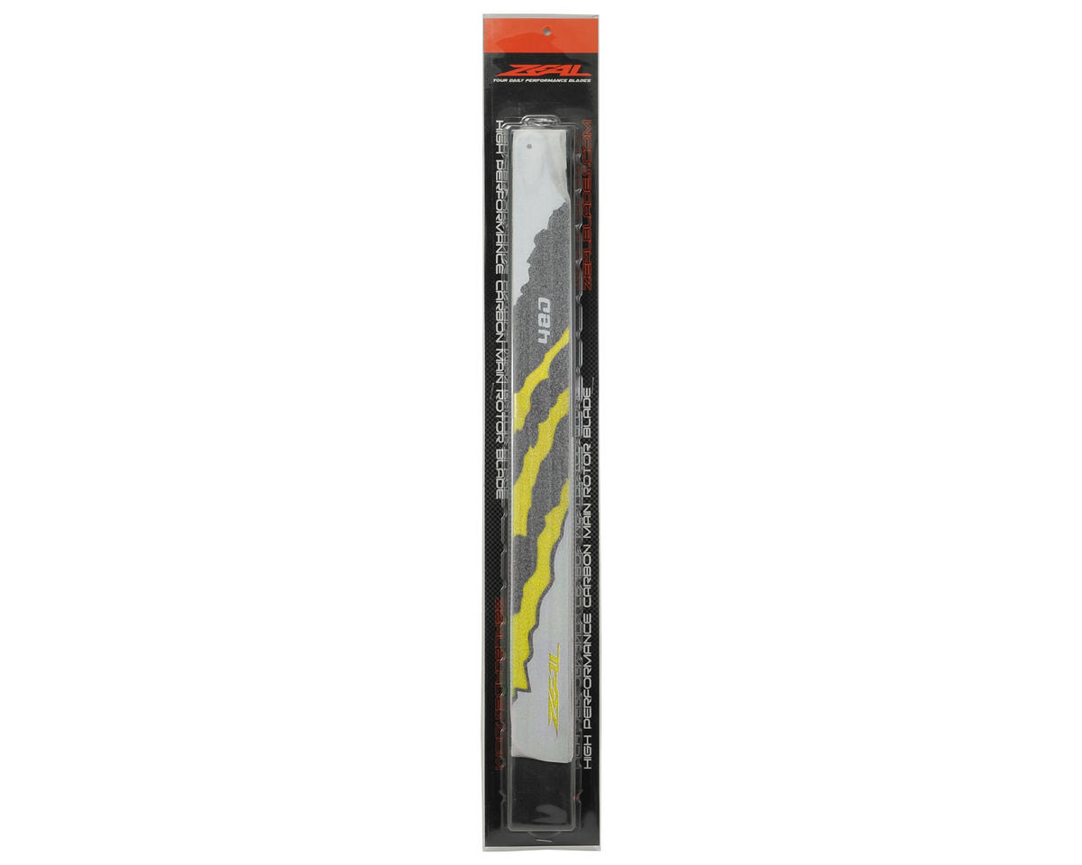 "Zeal 480mm ""Energy"" Carbon Fiber Main Blades (Yellow)"