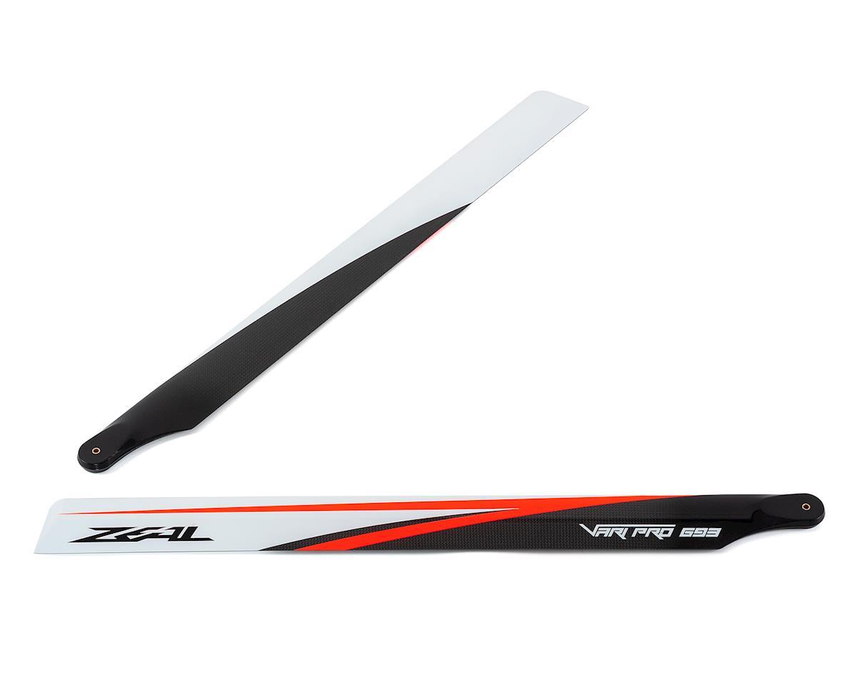 Zeal VariPro 693 Carbon Fiber Main Blades