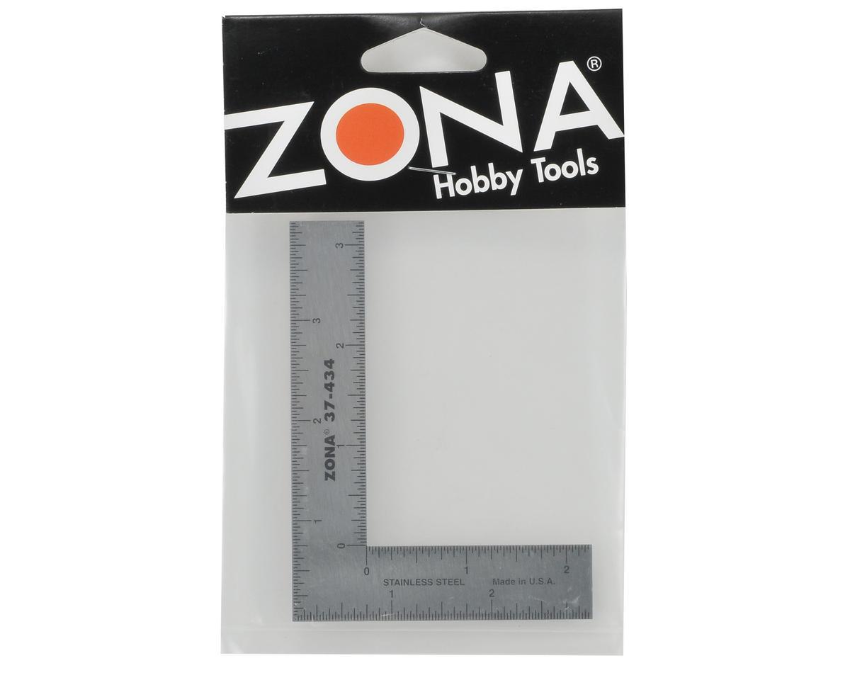 """Zona Tool 3x4"""" L-Square Ruler"""