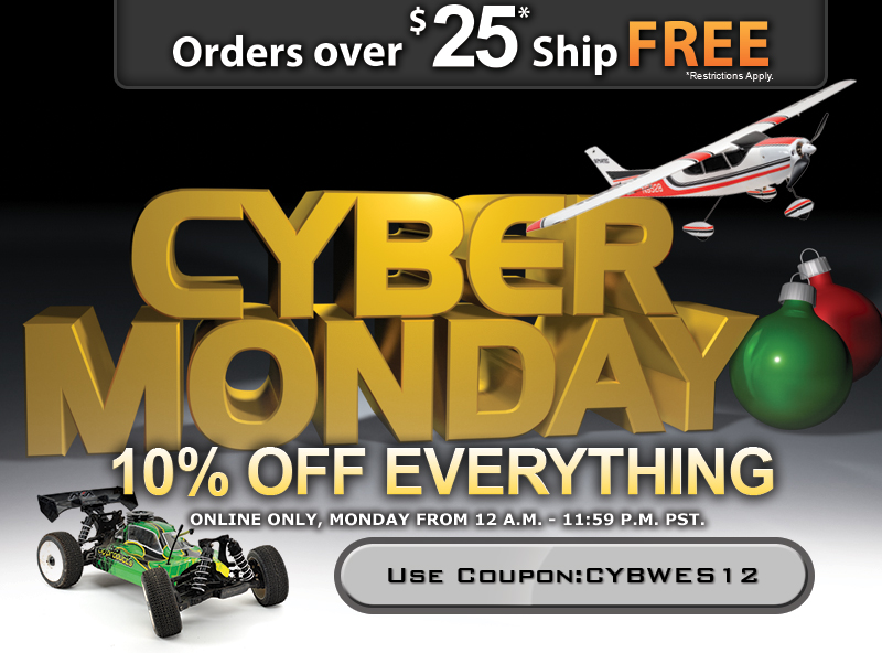 Cyber Monday 10% Off