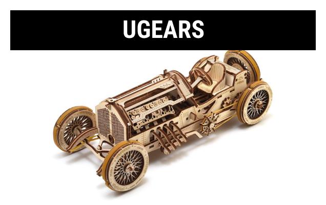 Shop UGears Wooden Models